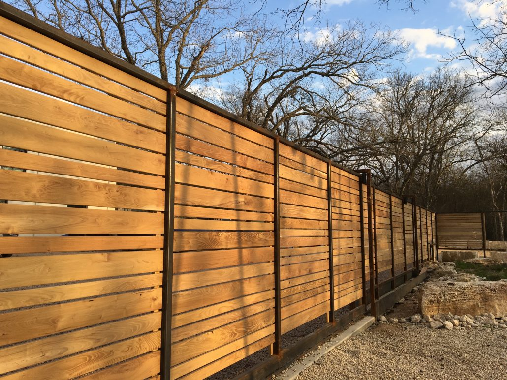 Decorative Fence Hill Country Science Mill Tx 187 Robi