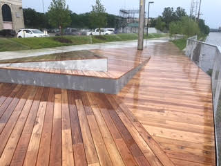 Black Locust Lumber And Decking Robi Decking
