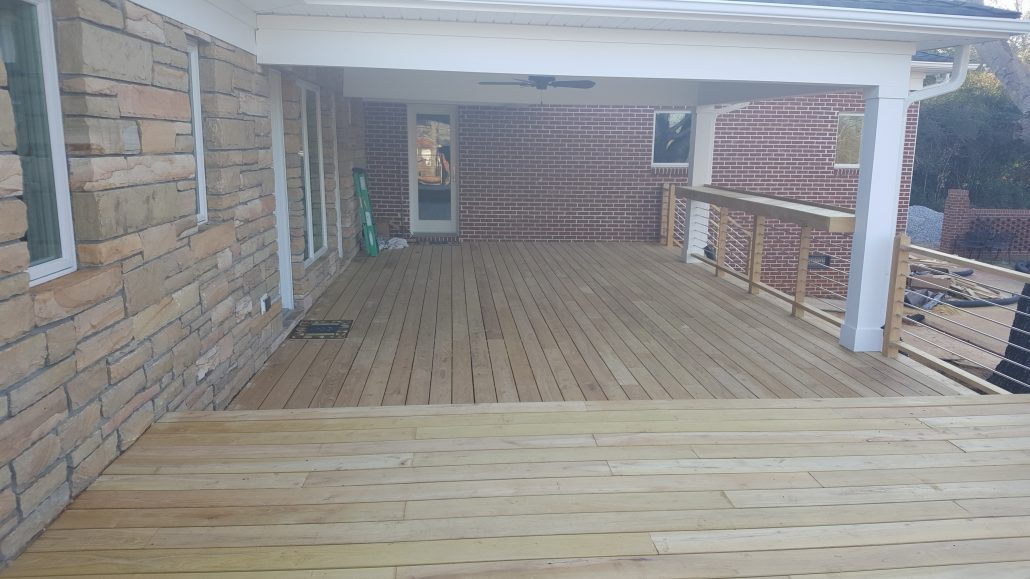 Lake Norman Nc Deck Remodel 187 Robi Decking