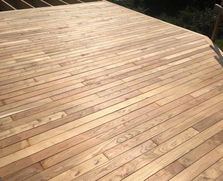 Black Locust Lumber and Decking - Robi Decking
