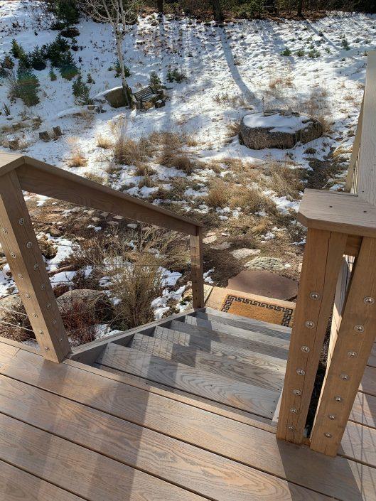 Sassafras Decking and Stair Treads