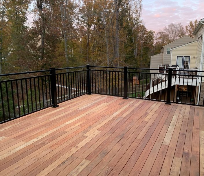 Black Locust Deck in Richmond